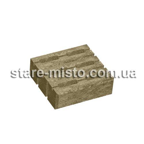 Блок декоративний 300x300x100 для стовпа генуя