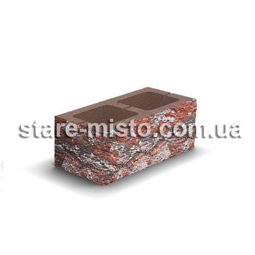 Блок декоративний 400x200x150 для паркану равена