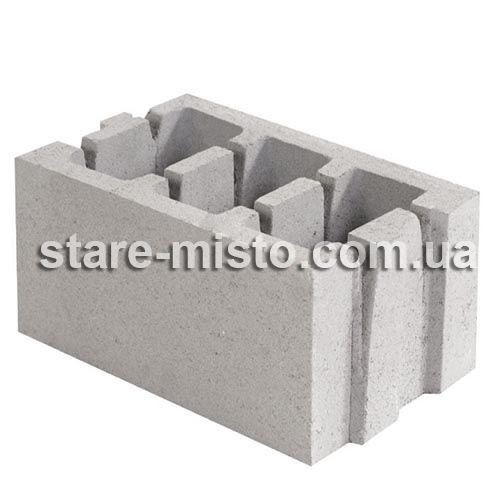 СБ-ПР 40.25.20 50/850 блок керамзитобетонний