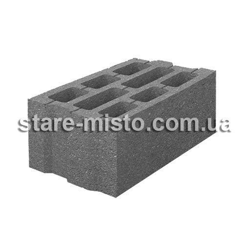 Блок стіновий 400х250х200 бетонний