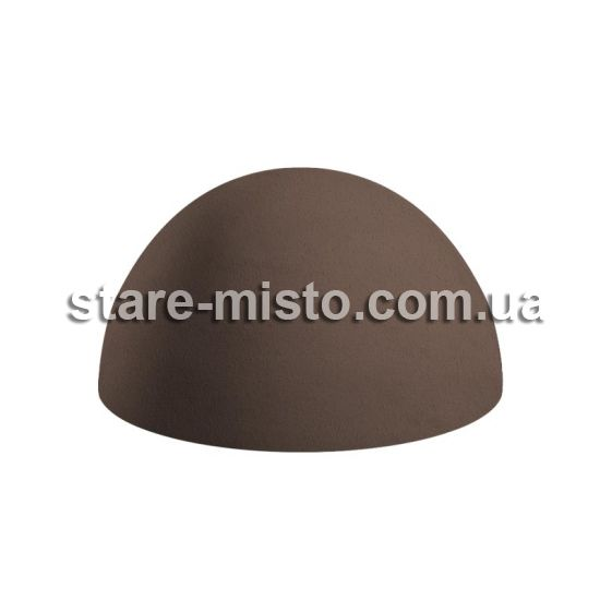 Півсфера бетонна 400х300 венге