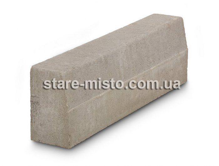 Бордюр дорожній 1000-300-150 Сірий