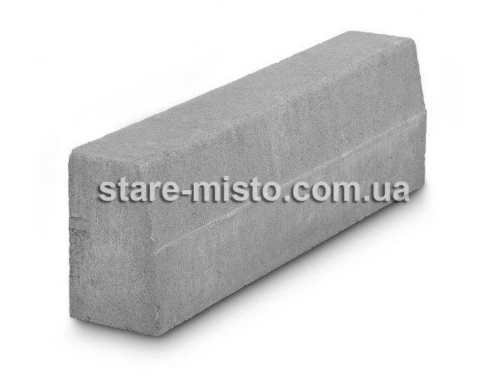 Борт дорожній 1000x150x300 Сірий