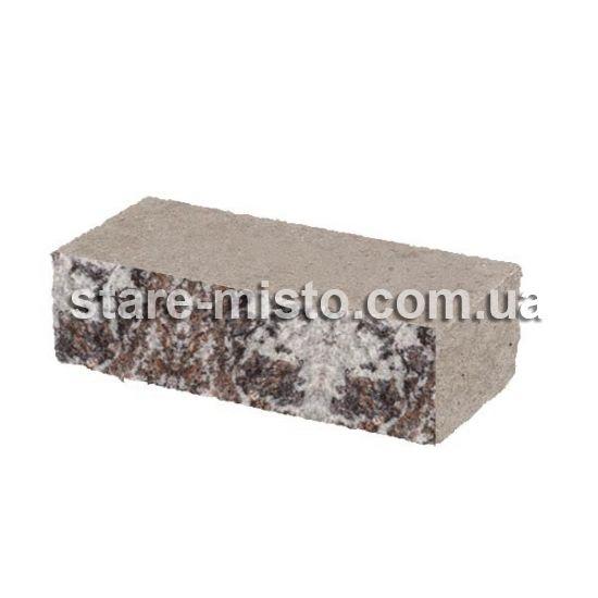 Фасадний камінь Рустик стандартний 210х35х60 еверест