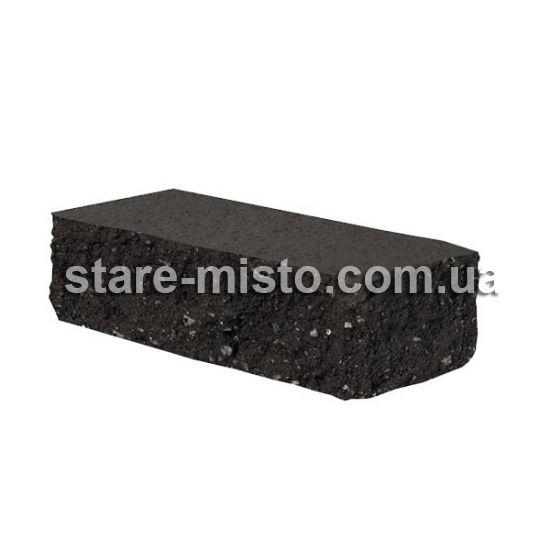 Фасадний камінь Рустик кутовий 175х50х60 графіт