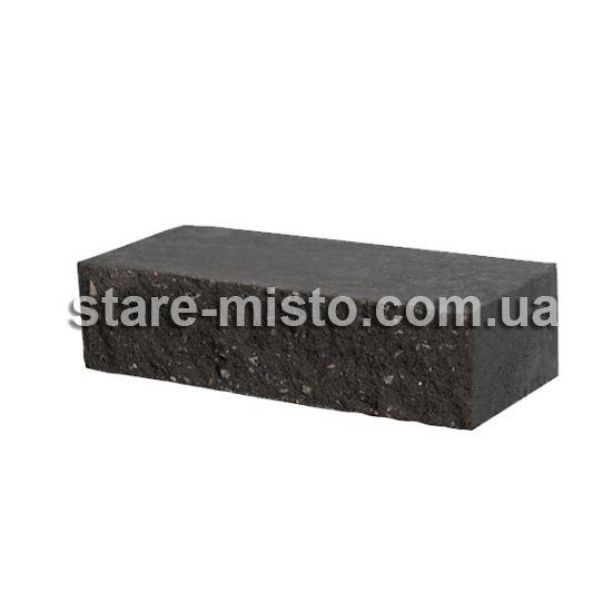 Фасадний камінь Рустик стандартний 250х100х65 графіт