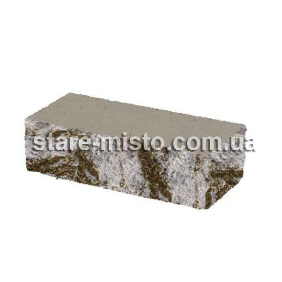 Фасадний камінь Рустик кутовий 185х35х60 капрі