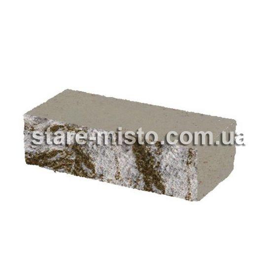 Фасадний камінь Рустик стандартний 250х100х65 капрі