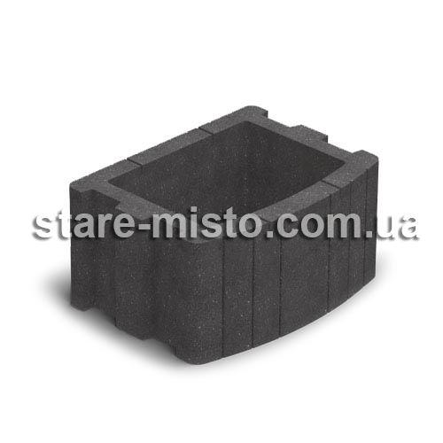 Квітник вібропресований  500x400 чорний