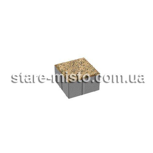 Квадрат Меланж 100x100x60 Танжерин