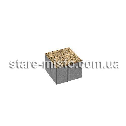 Квадрат Меланж 100x100x80 Танжерин