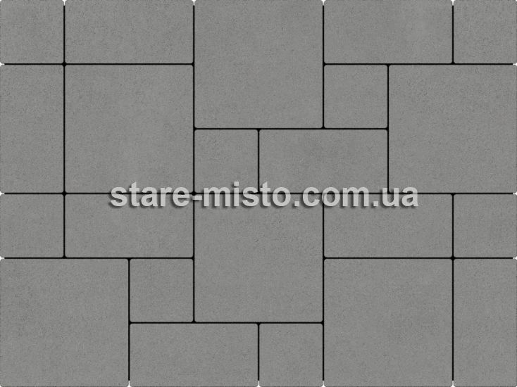 Лайнстоун-30 Сірий