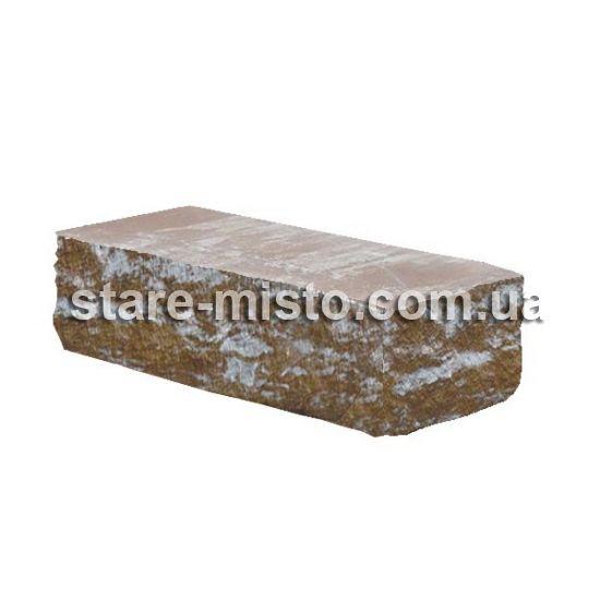 Фасадний камінь Рустик кутовий 185х35х60 невада