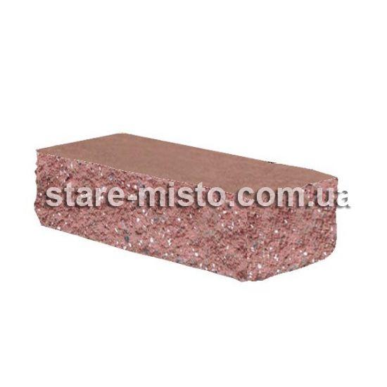 Фасадний камінь Рустик кутовий 175х50х60 порфір