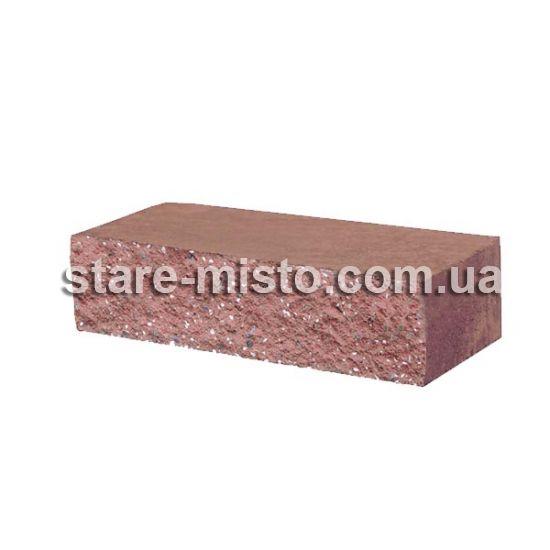 Фасадний камінь Рустик стандартний 250х100х65 порфір