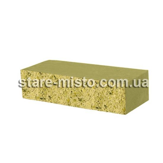 Фасадний камінь Рустик стандартний 250х50х65 сахара