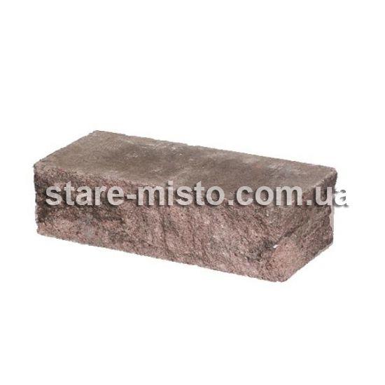 Фасадний камінь Рустик кутовий 225х100х65 терра